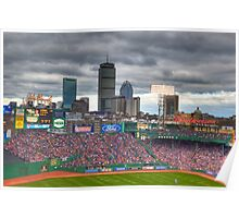 Fenway on Opening Day Poster