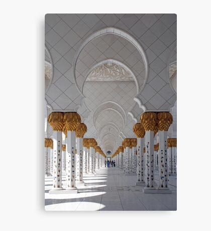 Sheikh Zayed Mosque, Abu Dhabi Canvas Print