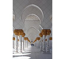 Sheikh Zayed Mosque, Abu Dhabi Photographic Print