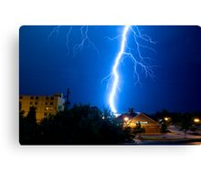 Lightning 2009 Canvas Print