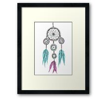 Tumblr Dreamcatcher Framed Print