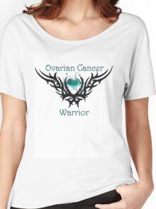 Ovarian Cancer Warrior Women's Relaxed Fit T-Shirt