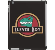 Dino Charge Green - Clever Boy iPad Case/Skin