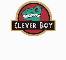 Dino Charge Green - Clever Boy Unisex T-Shirt