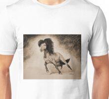 """A Free & Untamed Spirit"" - Sepia version Unisex T-Shirt"