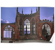 Coventry Cathedral Poster
