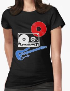 Rock 'n' Roll Womens Fitted T-Shirt