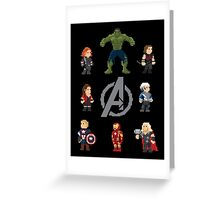 Assemble! Greeting Card
