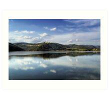 Lake of Corbara - Italy Art Print