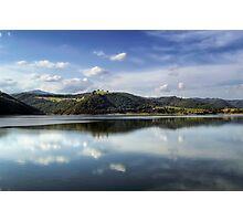 Lake of Corbara - Italy Photographic Print