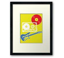 Rock 'n' Roll Framed Print