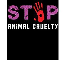 stop animal cruelty Photographic Print