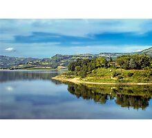 Lake of Corbara - Umbria - Italy Photographic Print