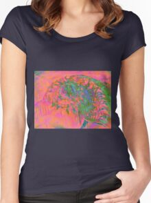 Materialization of a Shell Women's Fitted Scoop T-Shirt