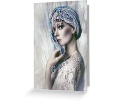 Opal Woman Greeting Card