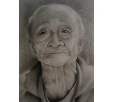 Old Thai Woman Photographic Print