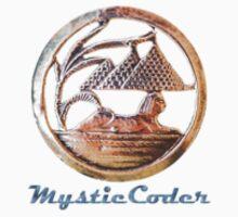 MysticCoder Logo &  Clear Amulet Kids Tee