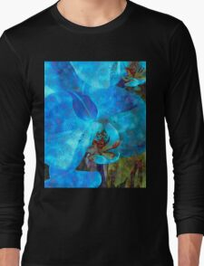 A Fine Blue Orchid Dream Long Sleeve T-Shirt