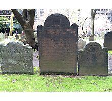 Trinity Church Cemetery, NYC Photographic Print