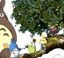 Totoro and More Sticker