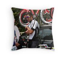 Mario Cipollini Throw Pillow