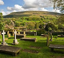 Pendle Hill from Downham by Steve  Liptrot