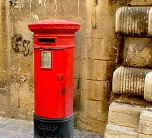 The Post Box by DeborahDinah