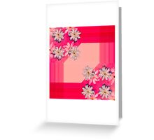Magnolia design Greeting Card