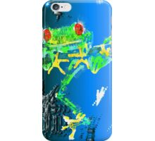 Red Eyed Green Tree Frog iPhone Case/Skin