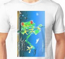 Red Eyed Green Tree Frog Unisex T-Shirt
