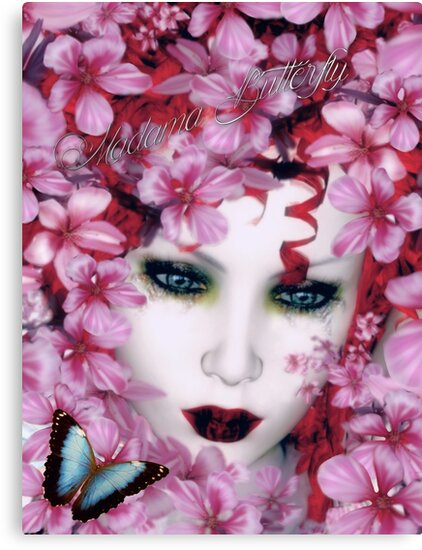 Madama Butterfly Art Card by Shanina Conway