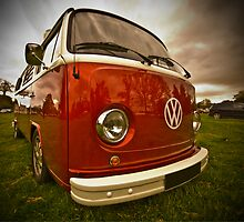 Reflections on a camper. by davidmcmurray