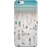 beach yoga iPhone Case/Skin