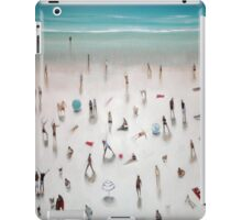 beach yoga iPad Case/Skin
