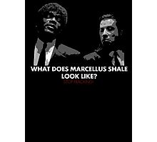 What Does Marcellus Shale Look Like? Photographic Print