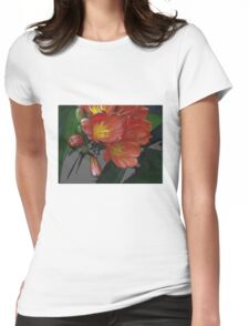 Beat Around The Bush Lily Womens Fitted T-Shirt