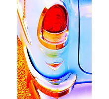 Heavy Chevy Tail Light Photographic Print