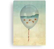 balloon fish Canvas Print