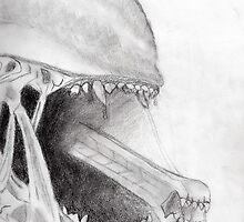 Aliens (Xenomorph) by babylontrek