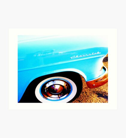 Heavy Chevy Front Tire  Art Print