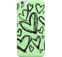 Heart Doodle iPhone Case/Skin