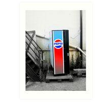 Loan Pepsi Machine Art Print