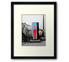 Loan Pepsi Machine Framed Print
