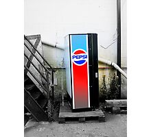 Loan Pepsi Machine Photographic Print