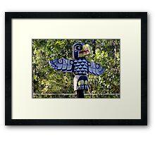 The Totem Pole Framed Print