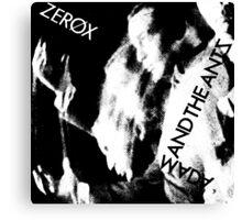 Adam and the Ants - Zerox Canvas Print