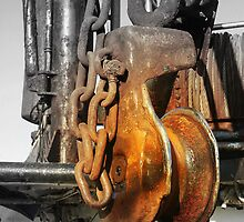 Rusted Pulleys by rtographsbyrolf