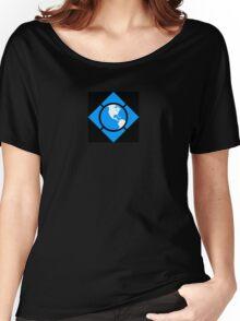 World of Tech Black Women's Relaxed Fit T-Shirt