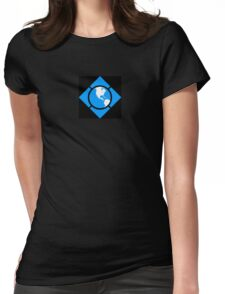 World of Tech Black Womens Fitted T-Shirt