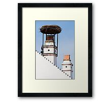 Stork's Nest Framed Print